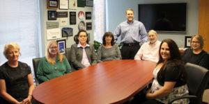 Team in Meeting Room